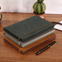 Top Grade Paperback Bandage Cloth This Elastic Band Notebook Sheep Pakistan Leather Office Business Laptop Gift Box Wholesale Cu