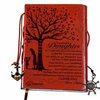 I «Love You Mom» для дочки Блокнот подарок многоразового использования записная книжка Дневник Блокнот винтажные Пираты; якоря блокнот, ПУ искус...