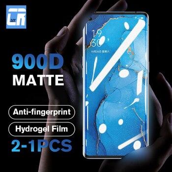 Перейти на Алиэкспресс и купить Матовая Гидрогелевая пленка без отпечатков пальцев для Oppo Reno 3 Pro 2 2Z ACE X10 Zoom Защита экрана для OPPO A5 A9 2020 A5S пленка не стекло