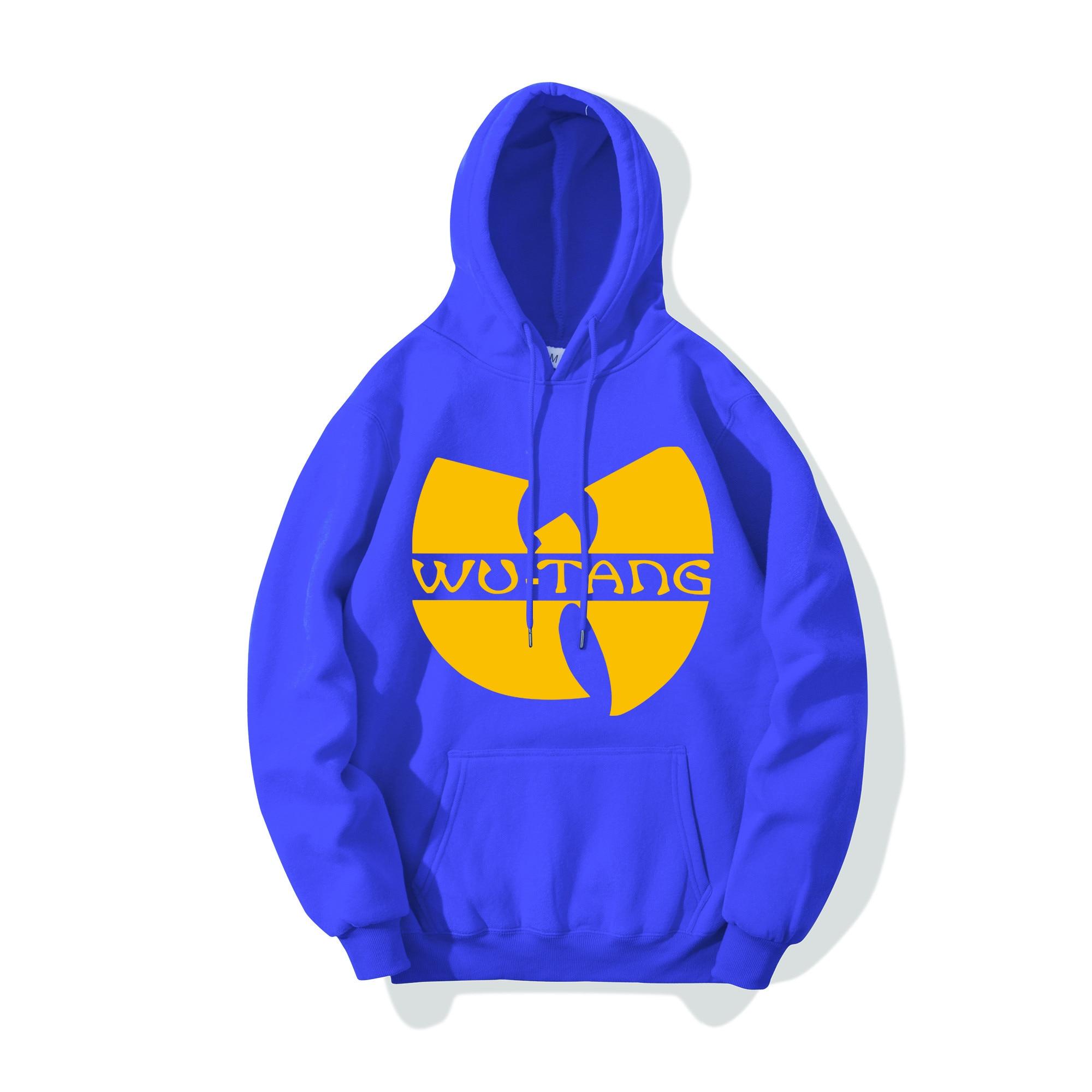Mens Hoodie Tracksuit Sweat Coat Casual Sportswear Hoodies 2019 Brand Male Hip Hop Long Sleeve Wu Tang Hooded Sweatshirt