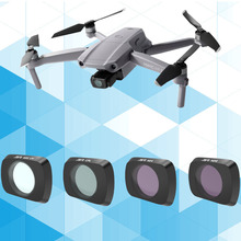 For DJI Mavic Air 2 Filter UV+CPL+ND4+ND8 Set Neutral Density Polar Glass For DJI Mavic Air2 Drone Filters Protector Accessories