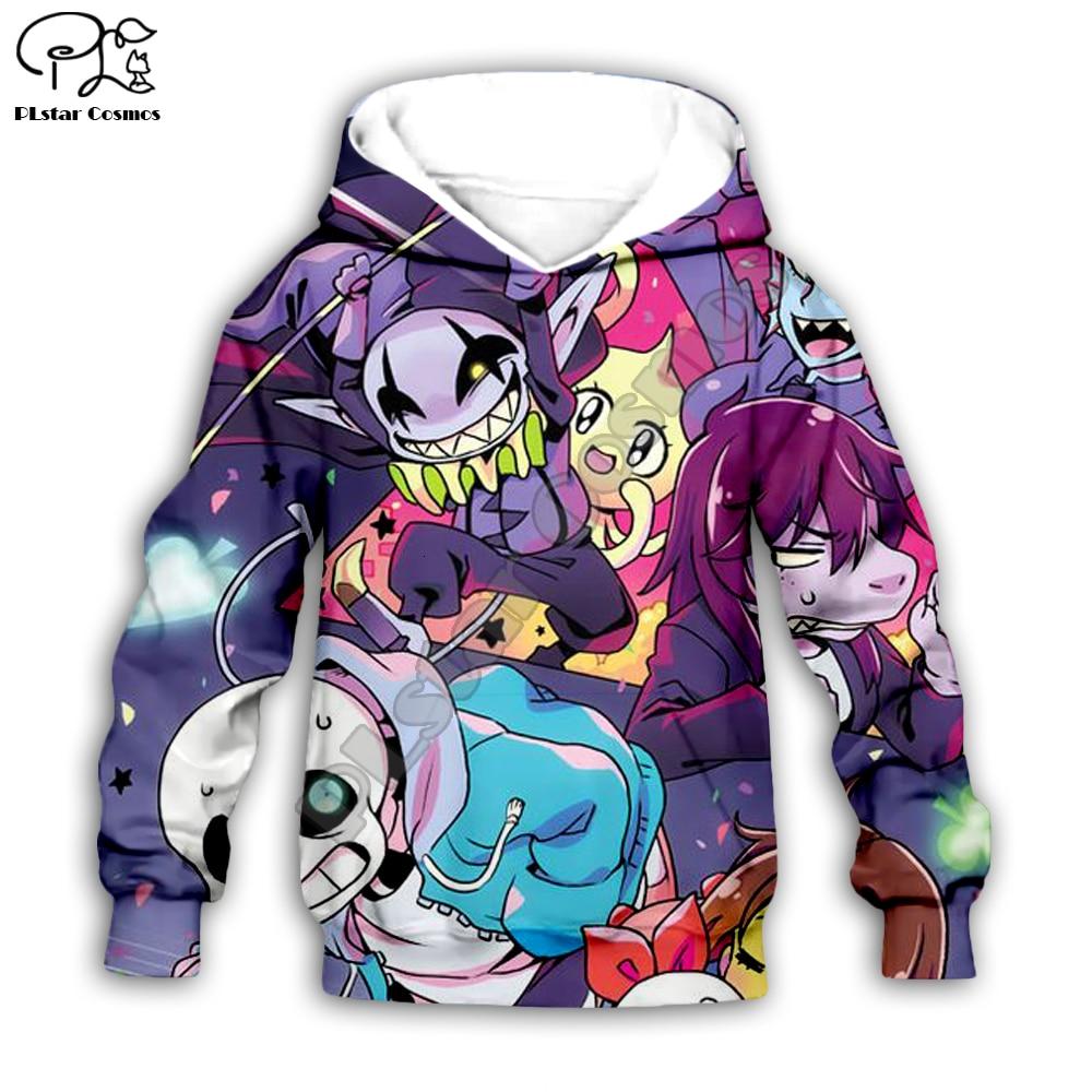 Crianças Pano Undertale Sans Jogo 3d hoodies/camiseta/camisola menino Dos Desenhos Animados Filme Hot pant estilo-2