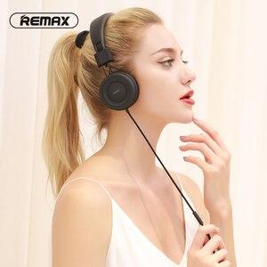 Image 5 - Remax Hifi Sound Gaming Hoofdtelefoon Met Microfoon Noise Canceling 3.5 Mm Aux Bedrade Opvouwbare Draagbare Headset Voor Pc Mp3 Muziek mp4