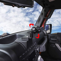 360 Degree Car Dashboard Car Windshield Cell Phone Holder Mounting Kit for Jeep Wrangler Jk Jku 2011 2017 Car Accessories