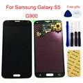 ЖК-дисплей для Samsung Galaxy S5 ЖК-экран G900 G900A G900MD G900V SM-G900F I9600 ЖК-дисплей кодирующий преобразователь сенсорного экрана в сборе