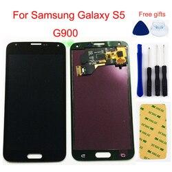 LCD do Samsung Galaxy S5 ekran LCD G900 G900A G900MD G900V SM-G900F I9600 wyświetlacz LCD ekran dotykowy Digitizer zgromadzenie
