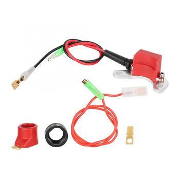 1 Set High Quality Spark Electronic Ignition Points Conversion Set Kit Fit for LUCAS 25D + DM2 ABS Car Accessories