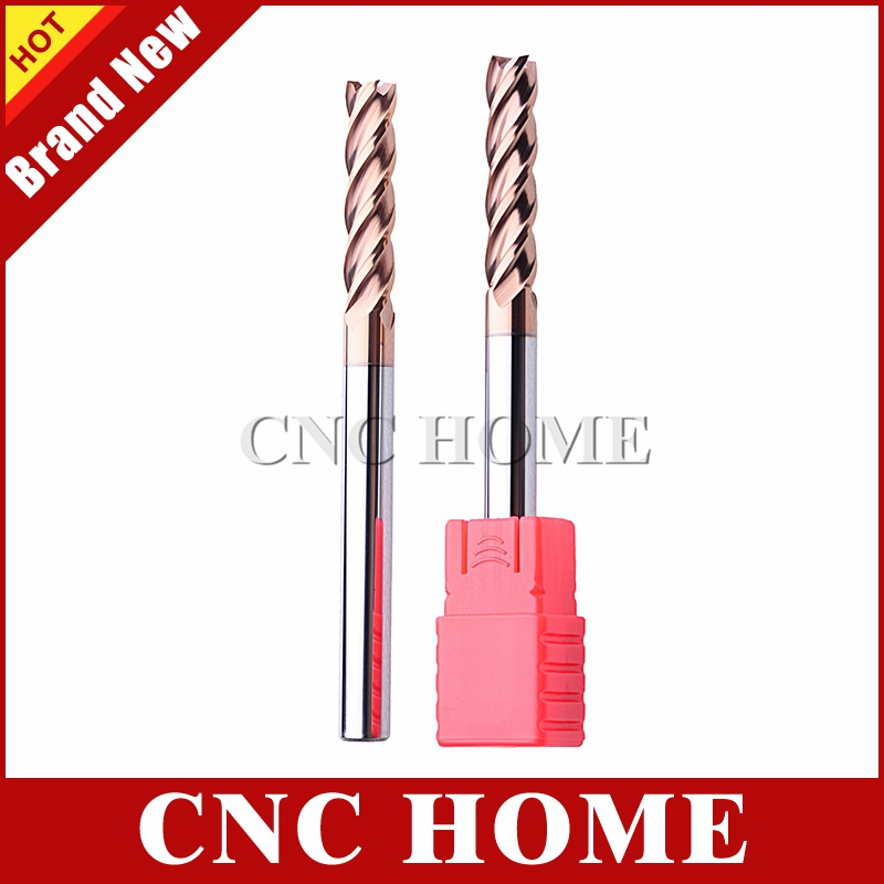1pc 7mm 4 Flute Single End Square Uncoated X//Long USA Carbide End Mill