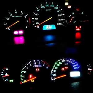 Image 5 - 100pcs T3 T4.2 T4.7 Cree Chip LED Bulb Car Dashboard Warning Indicator Light Instrument Cluster Lamp white red blue yellow green