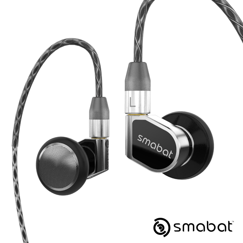 Smabat ST-10s Ear Hook Flagship Earbud HIFI Metal Earphone 15.4mm Dynamic Driver Detachable MMCX Cable ST10 ST10s M1Pro Turandot