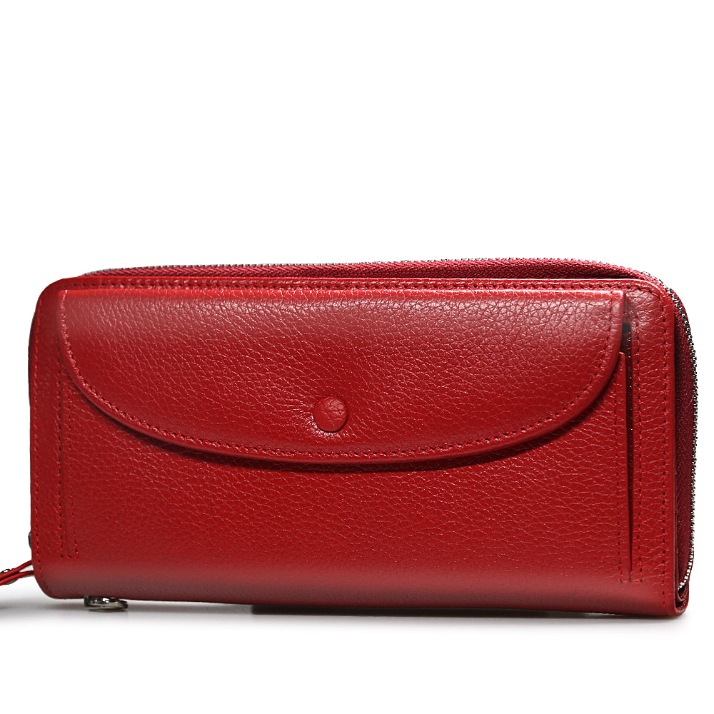 women's wallet genuine leather fashion luxury Female Wristband clutch bags Ladies purses quality money coin purse card holder
