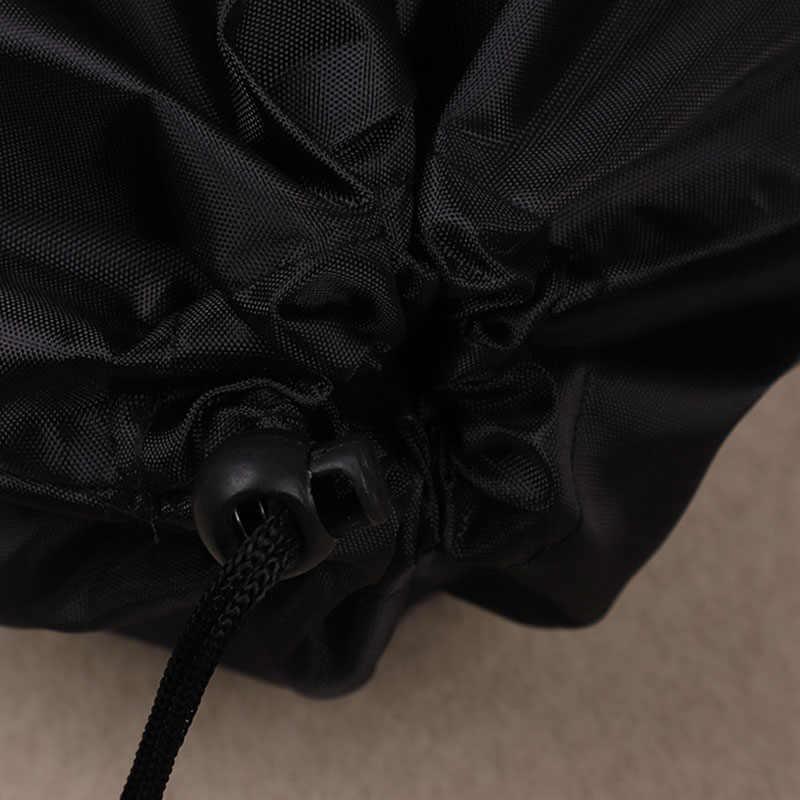 Bolsa de embalaje con logotipo de impresión personalizada, bolsa de viaje Oxford impermeable reutilizable con cordón, zapato, tela, teléfono, gafas, bolsillo de embalaje de maquillaje