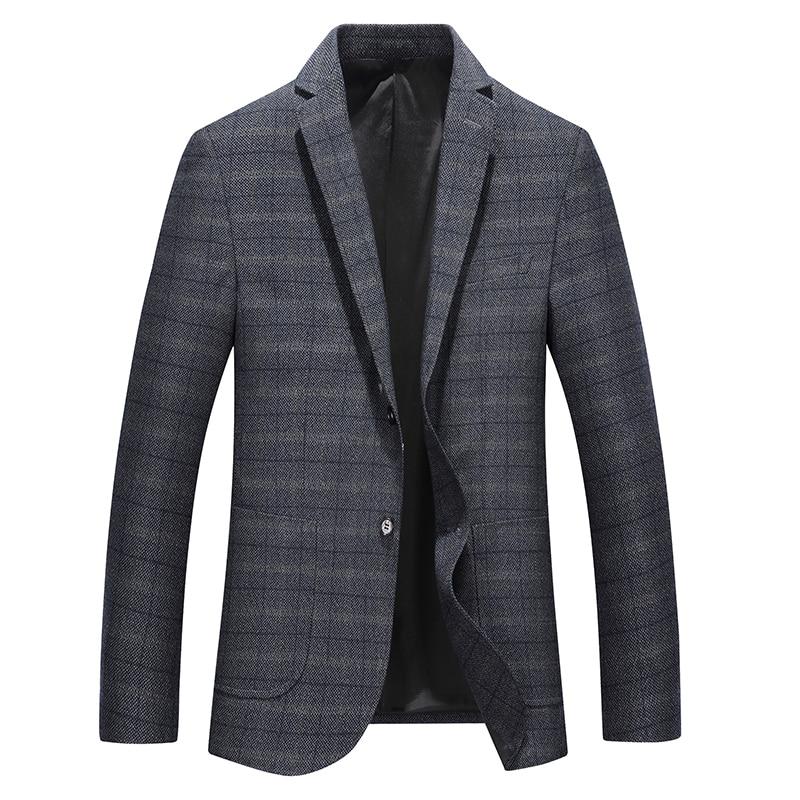 5X 6XL 7XL 8XL New Men's Blazer Suit Jacket Business Casual Men Blazer Slim England Suit Blaser Masculino Male Jacket Blazer Men