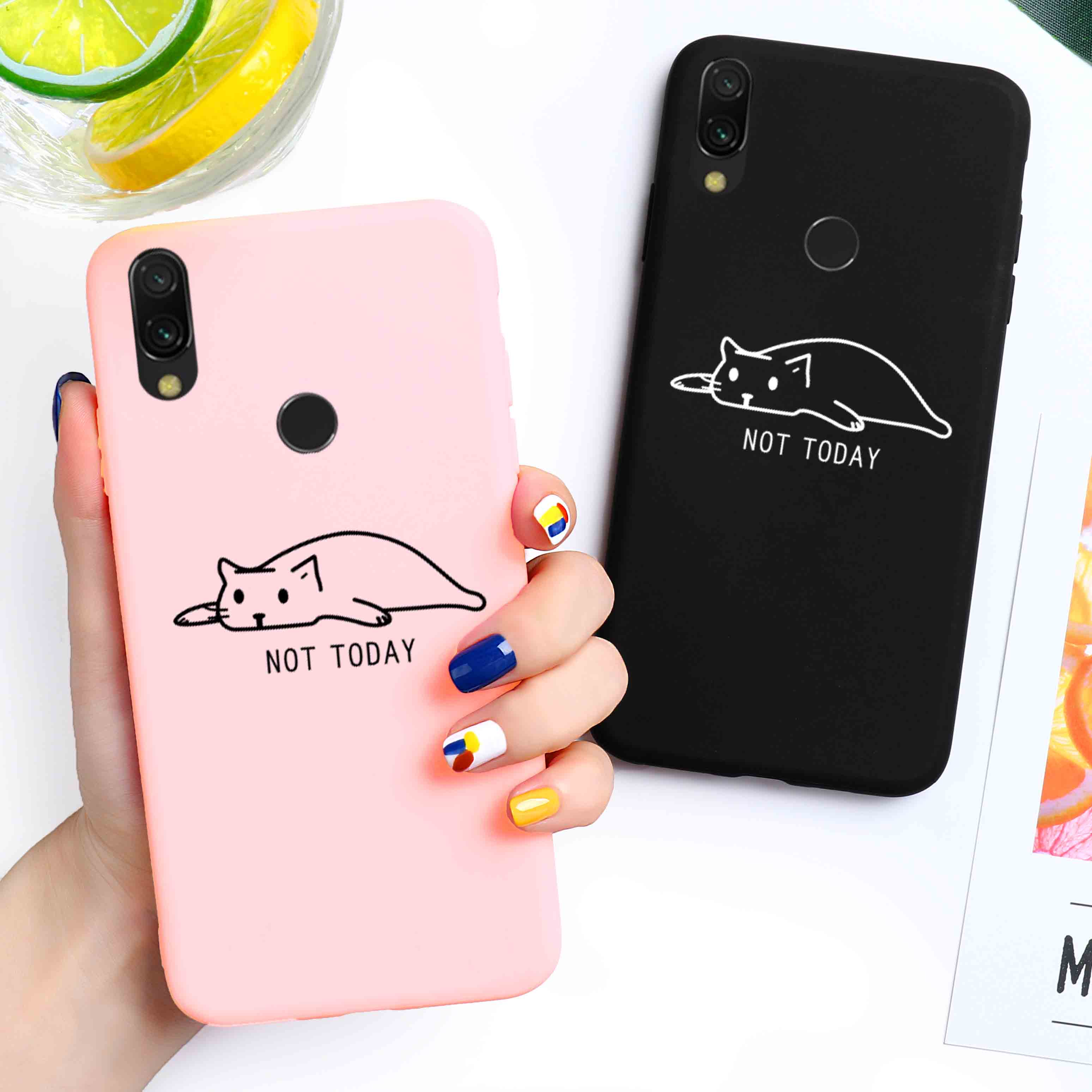 Candy Case For Xiaomi Redmi Note 8T Case Silicone 8 7 6 Pro 8A 7A 6A 5A 4X 5 Plus 6 7 8 S2 Y2 K30 K20 Pro Go Cute Cat Cover