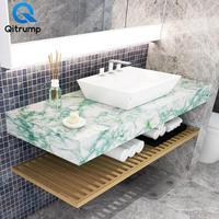 Waterproof oil-proof marble wallpa