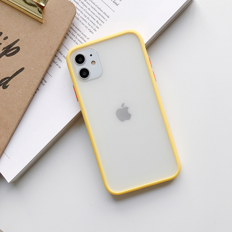 Transparent Silicone Matte Clear Back Cover Bumper Phone Case For iPhone Models 4
