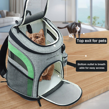 Pet Dog Cat Large Capacity Carrying Bag Breathable Dog Backpack Portable Outdoor Travel Pet Carrier Backpack