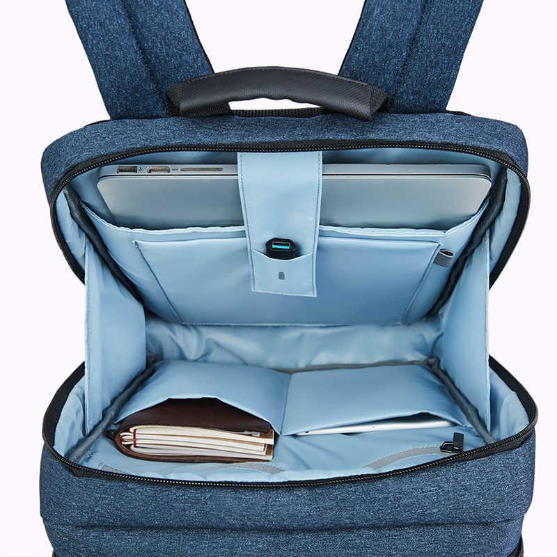 NINETYGO 90FUN klasyczny plecak biznesowy duża pojemność dla 15 cal torba na laptopa plecak szkolny podróży mężczyźni kobiety chłopiec dziewczyna