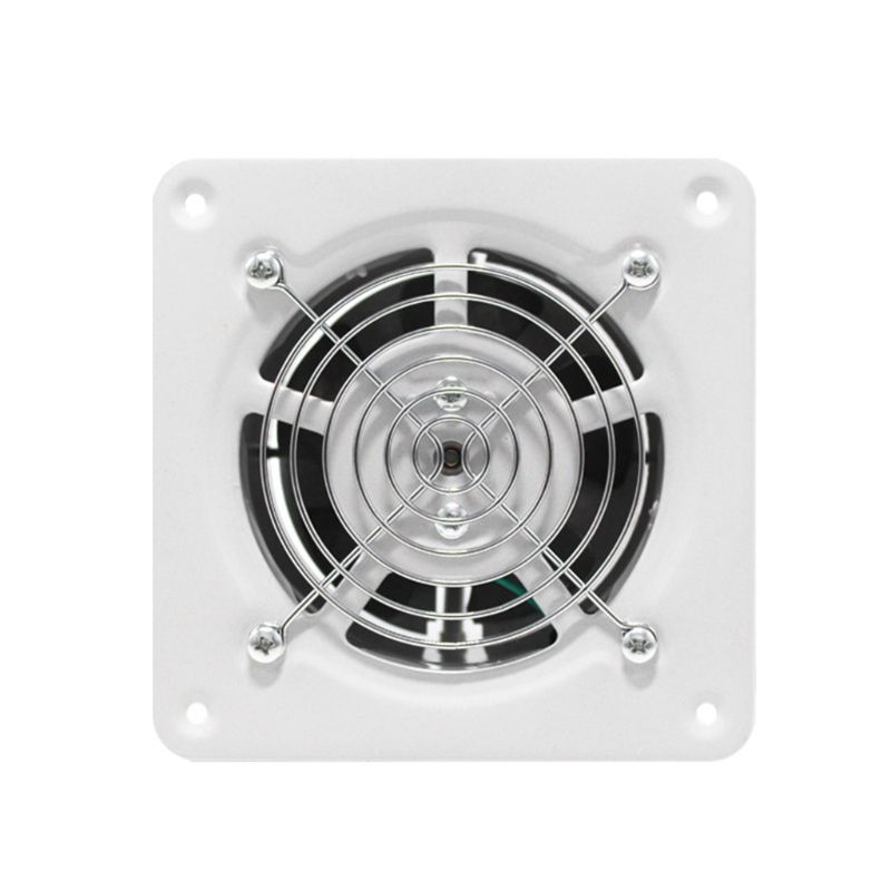 High Quality 4 Inch Extractor Exhaust Fan Quiet Air Ventilation Fans 25W Wall Window Ventilator For Toilet Bathroom Kitchen Room