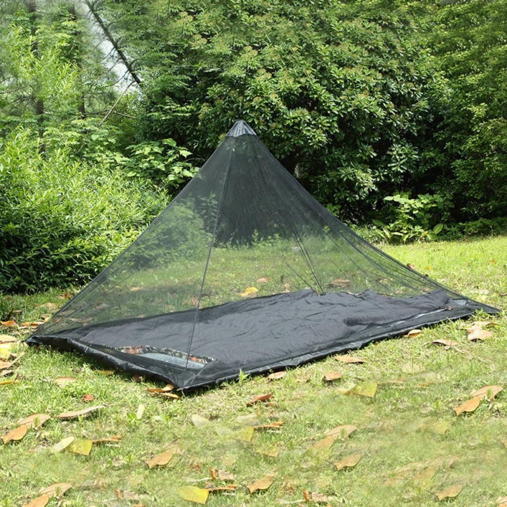 Outdoor Camping Mosquito Net for Sleeping Bag Airbed Air Bed Canopy Mattress Pad