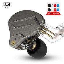 KZ ZSN PRO 1BA 1DD, tecnología híbrida, auriculares internos de Metal HIFI, auriculares de graves, Auriculares deportivos con cancelación de ruido, KZ ZSTX ZSX ZS10 PRO