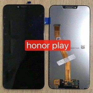 "Image 4 - 6.3 ""aaa para huawei honor play COR L29 display lcd digitador da tela de toque assembléia para huawei honor play lcd original + quadro"
