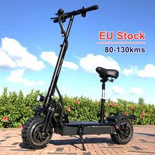 FLJ 3200W elektrikli bisiklet ile 80-130kms aralığı avrupa stok itme skuter e bisiklet bisiklet yol lastiği electrico Scooter