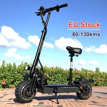 FLJ-Bicicleta eléctrica de 3200W, 80-130kms, disponible en Europa, con neumático de carretera
