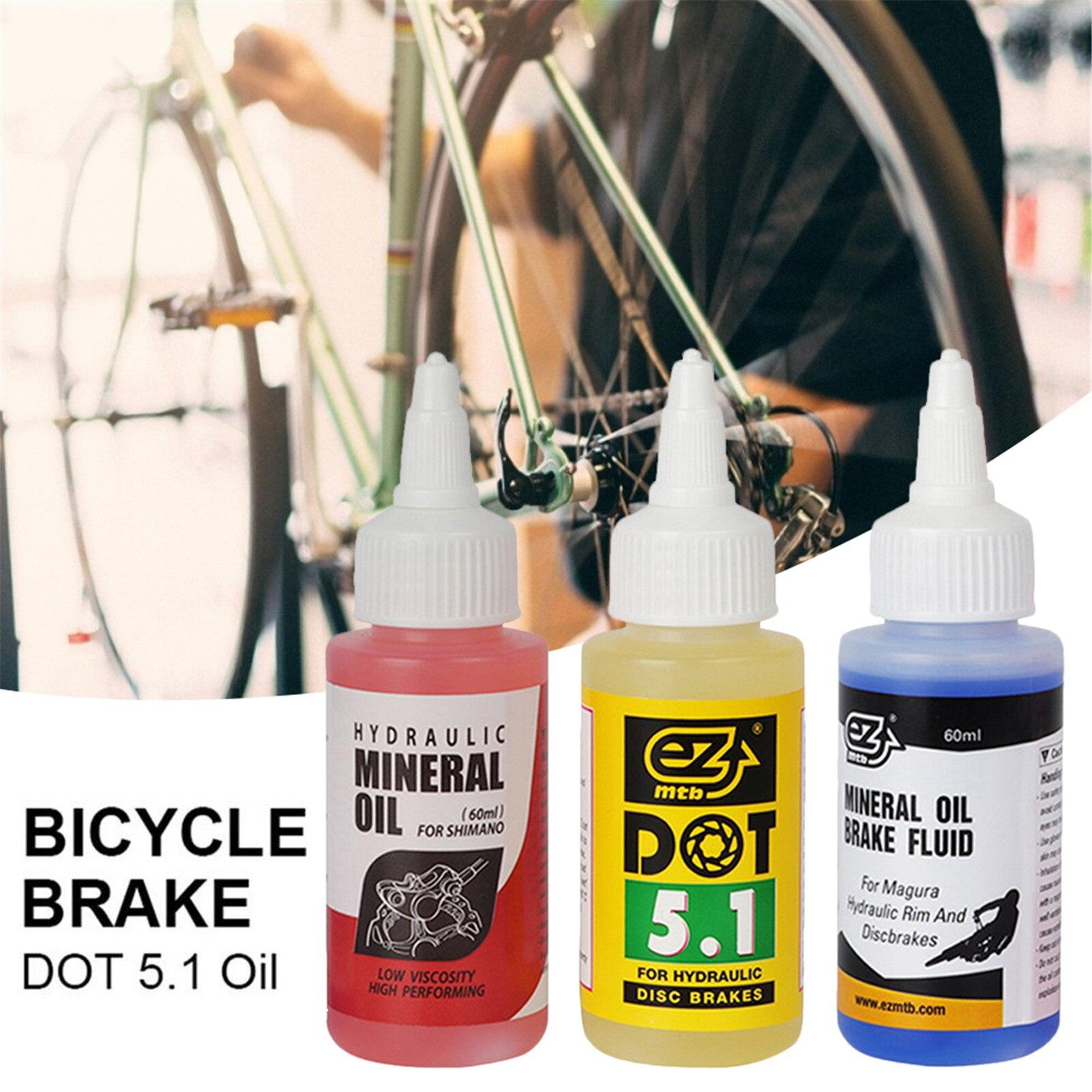 Велосипедные тормоза минеральное масло Системы 60 мл жидкости велосипеды горные велосипеды дисковый тормоз горного велосипеда масло для ...