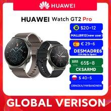 W magazynie globalna wersja HUAWEI zegarek GT 2 pro SmartWatch 14 dni żywotność baterii GPS bezprzewodowe ładowanie Kirin A1 GT2 Pro