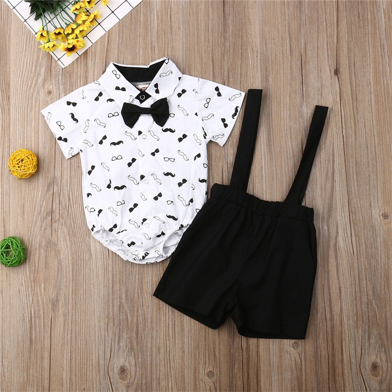 Baby Boy Clothes Summer 2019 Newborn Baby Boys Clothes Set Cotton Baby Clothing Suit (Shirt+Pants) Casual Infant Clothes Set