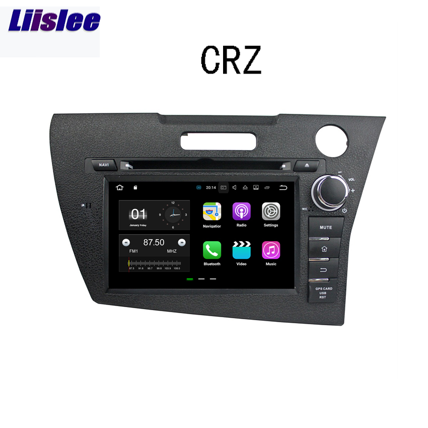 Liislee Android Car Navigation <font><b>GPS</b></font> For <font><b>Honda</b></font> <font><b>CRZ</b></font> 2013 Audio Video Stereo HD Touch Screen Multimedia Player. image