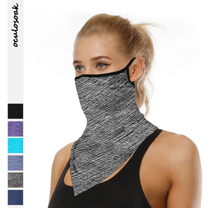 Explosion Multi-purpose Outdoor Supplies Riding Mask Soft Breathable Triangle Scarf Bib Wristband Wholesale