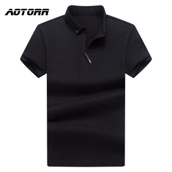 Men Summer Polo Shirt Fashion Cotton Short Sleeve Polo Shirts Male Solid Color Breathable Tops Tees Mens Business Casual Clothes