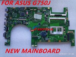 G750J laptopa płyta główna do Asusa G750JH G750JW G750JX G750JS G750JM G750JZ Test oryginalne płyty głównej płyta główna 2D I7-4700HQ