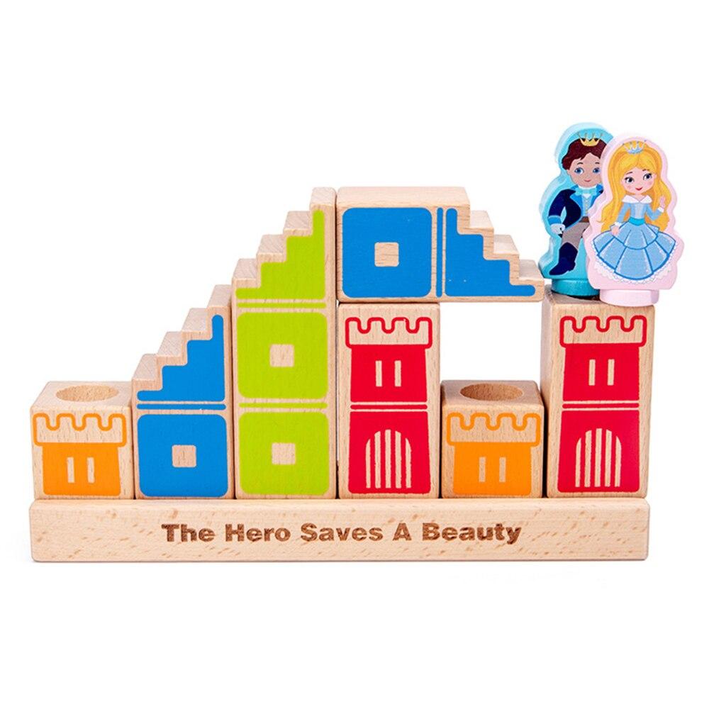 de construção brinquedos de inteligência educacional das crianças