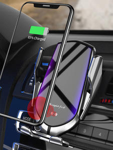 FLOVEME Automatic Clamping 10W Car Wireless Charger for iPhone XS 11 Pro Samsung Xiaomi