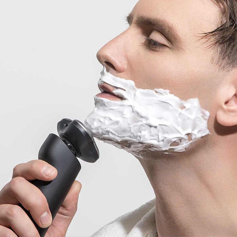 Xiaomi חשמלי מכונת גילוח לגברים גילוח מכונת גילוח xiaomi מכונת גילוח זקן גוזם מקורי 3 ראשי יבש רטוב גילוח רחיץ razor 4