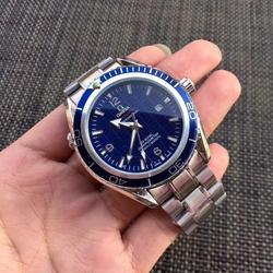 Топ бренд Роскошные автоматические механические часы мужские часы керамика сапфир светящийся календарь механические часы 007 9955