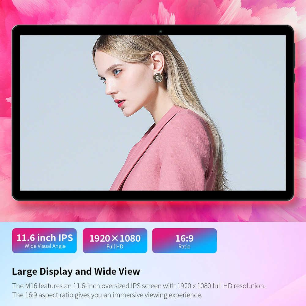 "Teclast M16 2 ב 1 טבליות 11.6 ""אנדרואיד 8.0 Tablet PC 4GB RAM 128G ROM Helio X27 deca Core4G רשת 8.0MP עגינה סוג-C HDMI"