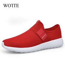 Casual Shoes Soft-Sneakers Outdoor Breathable Big-Size Men Fashion for 46 Mesh Flat