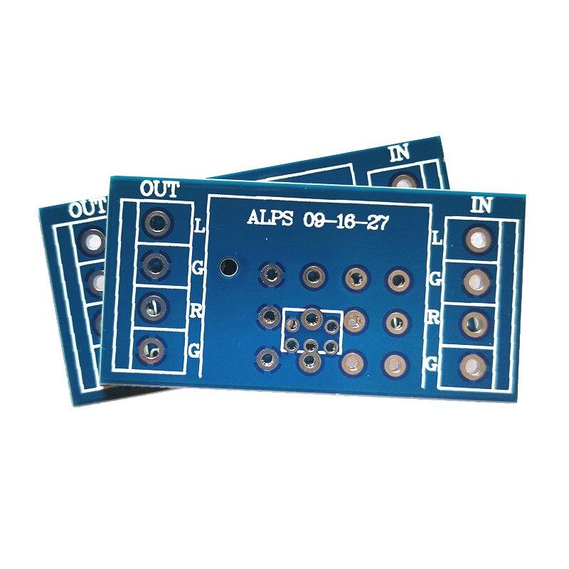 4 шт потенциометр печатной платы для усилителя мощности для ALPS 9 Тип 16 тип 27 Тип
