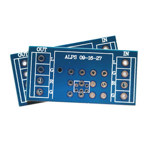 Image 1 - 4 piece potentiometer PCB for amplifier PCB for ALPS  9 type 16 type 27 type