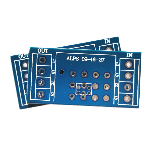 4 piece potentiometer PCB for amplifier PCB for ALPS  9 type 16 type 27 type