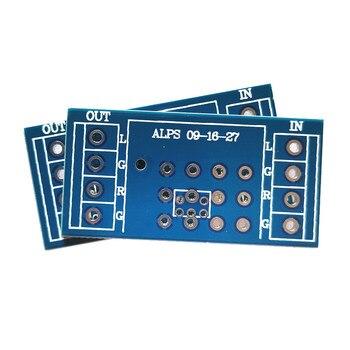 Potenciómetro PCB de 4 piezas para amplificador, PCB para ALPS 9 tipo...