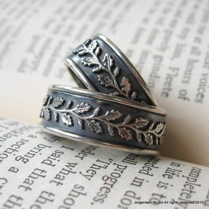 Женское классическое кольцо с ивовым листом в стиле ретро, Подарок на годовщину, для работы, спорта, повседневная одежда, ювелирные изделия