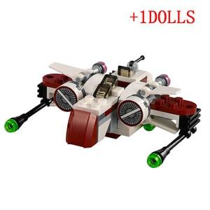 2020 распродажа, Звездные войны, космический корабль, микроистребители, фигурки, строительные блоки, кирпичи, Legoinglys, игрушки, Juguetes, рождественский подарок