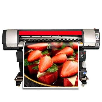 Широкоформатная машина для струйной печати для баннерной обертывания автомобиля и винилового ПВХ с одной головкой Xp600 экологический сольв...