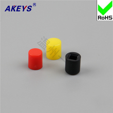 A20 key cap / yellow, red, blue, white, black and green gray with 7 * 7/8 * 8/8 .5 self-locking hat switch self-locking 8 * 8 цена