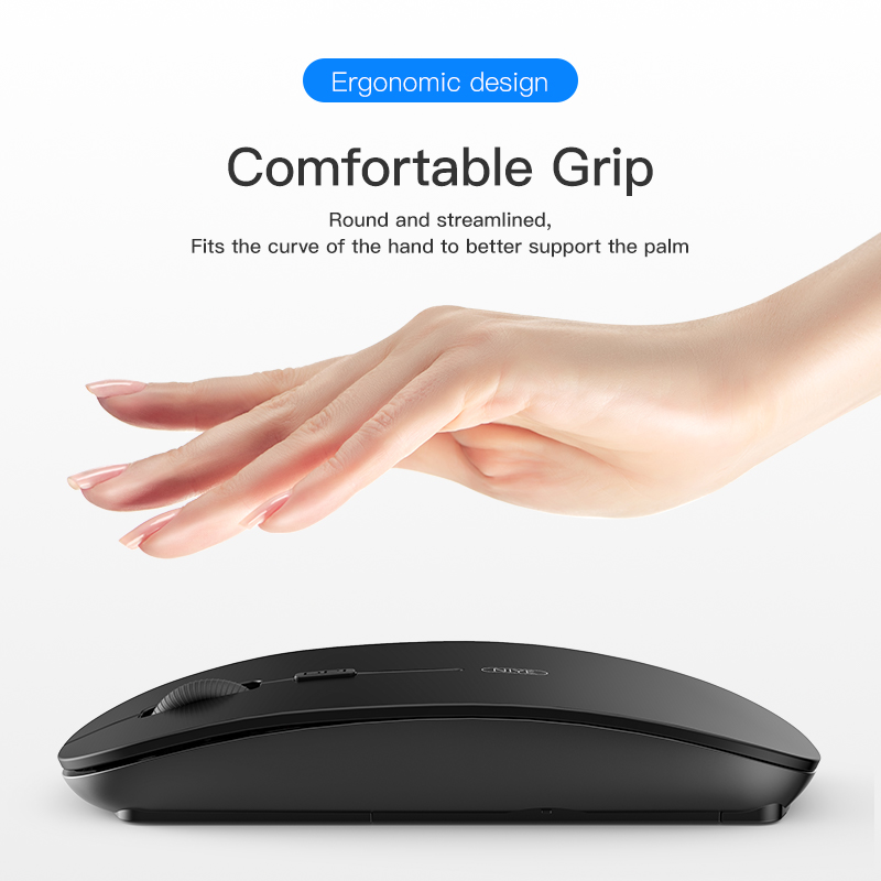 Niye Wireless Mouse Computer Mouse 2.4GHz USB Adapter Home Office Desktop Computer Mice Laptop Wireless Mouse Ergonomic Mouse 5